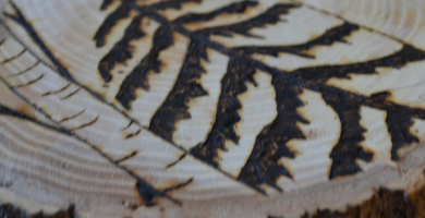 pirograbado en madera bogota
