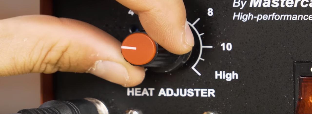 regular la temperatura en el prirografo