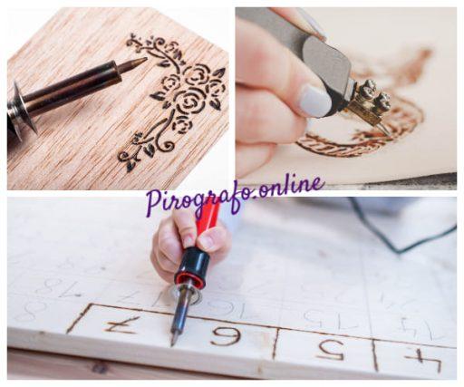 Mejores tecnicas para el delineado con pirografo