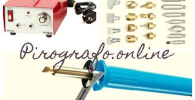 Accesorios y complementos para pirograbadores profesionales