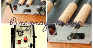 Pirografo con regulador de temperatura Reig
