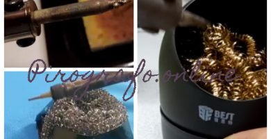 Tecnica para la limpieza y cuidado del pirografo