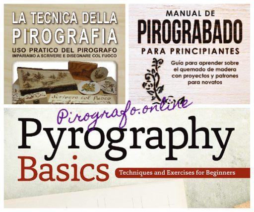 Libros y manuales para el arte del pirograbado