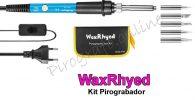 WaxRhyed pirograbador con regulador de temperatura